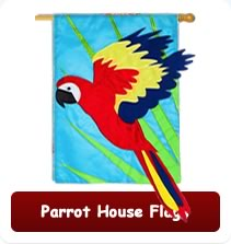 Parrot House Flags