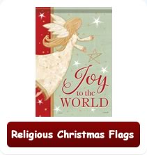 Decorative Religious Christmas Flags