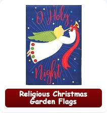 Religious Christmas Garden Flags
