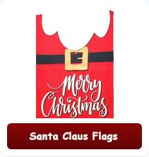 Decorative Santa Flags