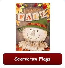 Scarecrow Flags perfect for Fall