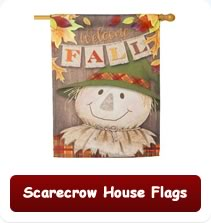Scarecrow House Flags
