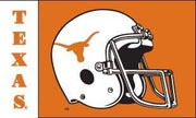 Texas Longhorn 3x5 Football Helmet Screen Print Flag