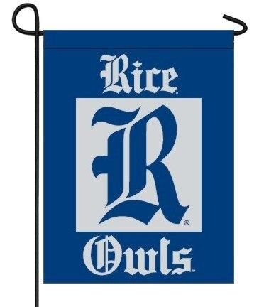 Rice University Double Sided Garden Flag