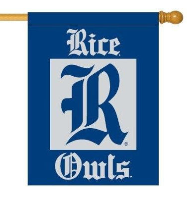 Rice University Double Sided House Flag