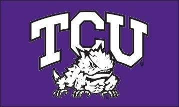 TCU Horned Frogs Logo 3x5 Flag