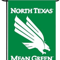 University of North Texas Mean Green Double Sided Garden Flag