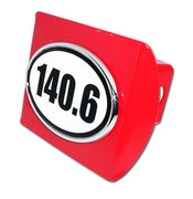 140.6 Ironman Triathlon Red Hitch Cover