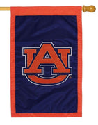 Auburn University Applique House Flag