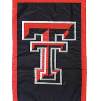 Texas Tech Applique House Flag