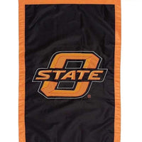 Oklahoma State University Applique House Flag