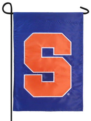 Syracuse University Applique Garden Flag