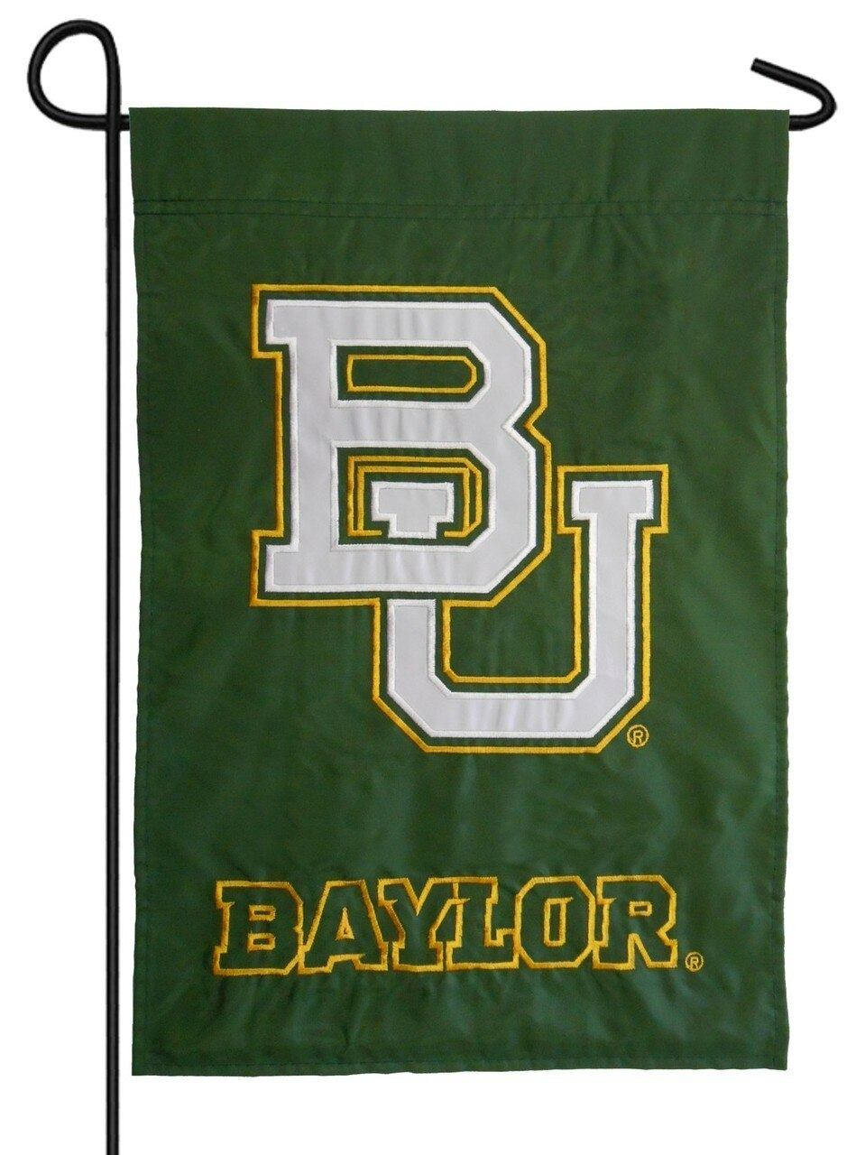 Baylor Bears Applique Garden Flag