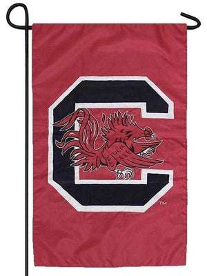 University of South Carolina Gamecocks Applique Garden Flag