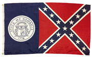 1956 Georgia State Flag 3x5 Printed Polyester