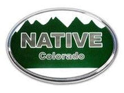 Colorado Native Oval Emblem