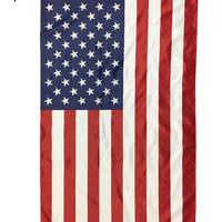 2.5' x 4' American House Flag with Pole Sleeve - American Flags - I AmEricas Flags