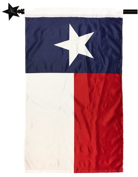 2.5' x 4' Texas House Flag with Pole Sleeve - Texas Flags - I AmEricas Flags