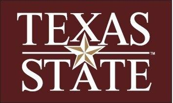 Texas State University 3x5 Logo Flag