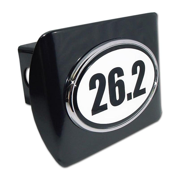 26.2 Marathon Black Hitch Cover