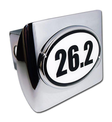 26.2 Marathon Shiny Chrome Hitch Cover