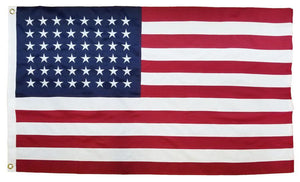 48 Star American Flag 3x5 2-Ply Polyester