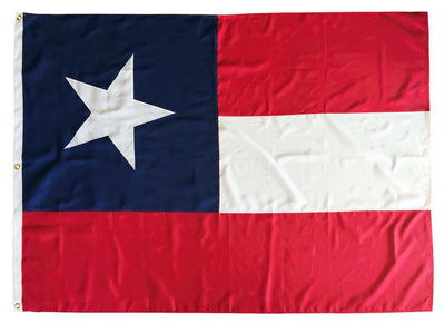 5th Texas Infantry Battle Flag Original Size 2-Ply Polyester