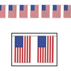 30ft American Flag String