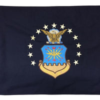 Air Force 2x3 Vintage Embroidered Cotton Flag