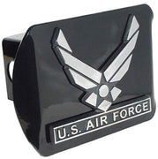 Air Force Wings Black Hitch Cover