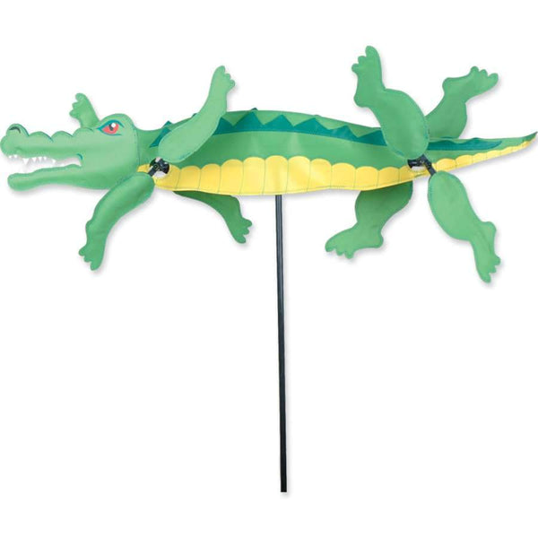 Alligator Large WhirliGig Wind Spinner