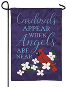 Angels Are Near Applique Garden Flag