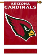 Arizona Cardinals Applique House Flag
