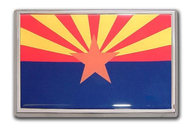 Arizona Flag Car Emblem