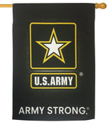 Army Black Sublimated House Flag