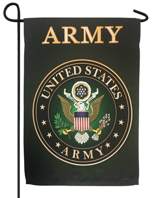 Army Green Sublimated Garden Flag