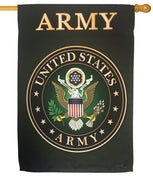 Army Green Sublimated House Flag