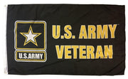 Army Veteran 3x5 Printed Polyester Flag