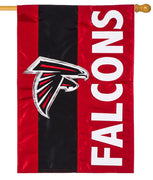 Atlanta Falcons Embellished Applique House Flag