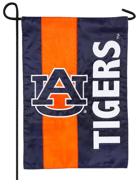 Auburn Tigers Embellished Applique Garden Flag - Sports Flags/College and University/Auburn University Flags - I AmEricas Flags