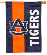 Auburn Tigers Embellished Applique House Flag