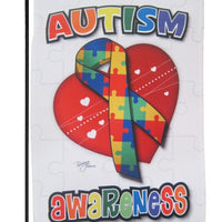Autism Awareness Garden Flag