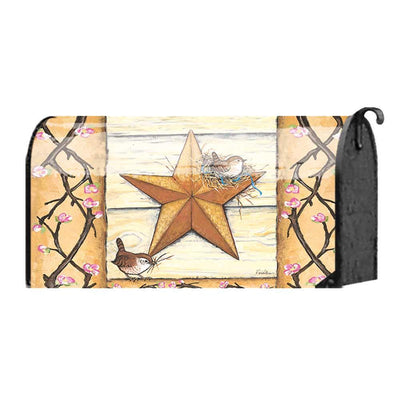 Barn Star Mailbox Cover