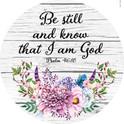 Be Still and Know I Am God Accent Magnet