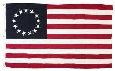 Betsy Ross Flag 3x5 Sewn Cotton