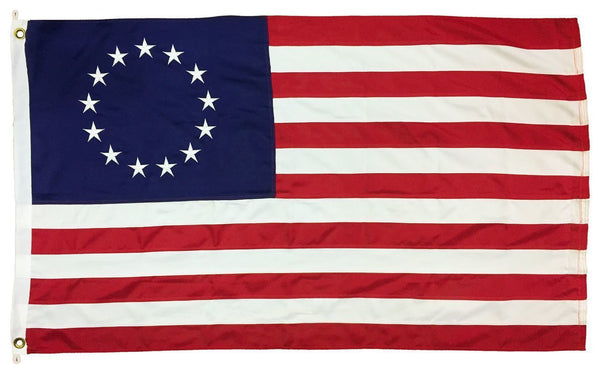 Betsy Ross Flag 5x8 2-Ply Polyester - Historical Flags/Revolutionary War Flags - I AmEricas Flags
