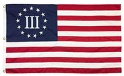 Betsy Ross Nyberg Three Percenter Flag 3x5 2-Ply Polyester