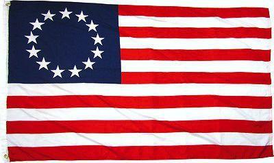 Betsy Ross Flag 2x3 Printed Polyester