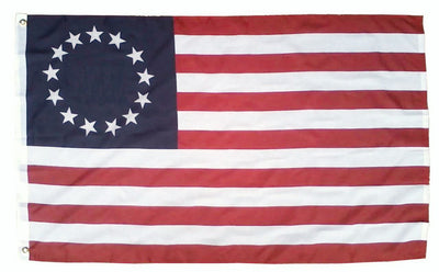 Betsy Ross Flag 3x5 Printed Polyester