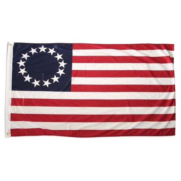 Betsy Ross Flag 3x5 Superknit Polyester - Historical Flags/Revolutionary War Flags - I AmEricas Flags